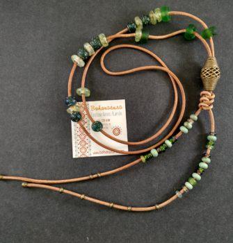 artesania unico collar largo boho