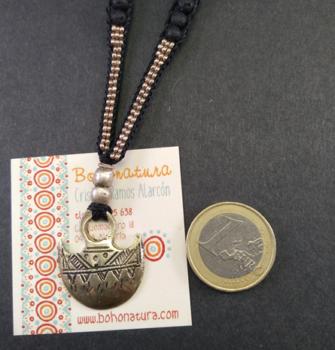 artesanal, único, tuareg y plateada